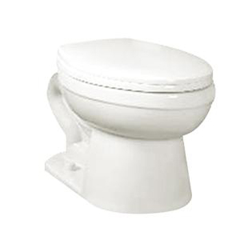 Crane 31128100 Economiser Big Foot ADA Elongated Front Pressure Assisted Toilet Bowl - White