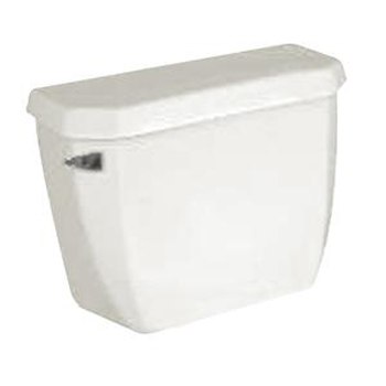 Crane 3612NS100 Economiser Big Foot Pressure Assisted Toilet Tank - White