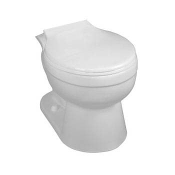 Crane 31124 EconoMiser BigFoot Round Front Toilet Bowl Only - White