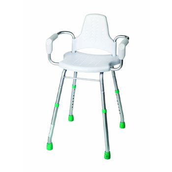 Croydex AP400222YW Modular Shower Stool - White