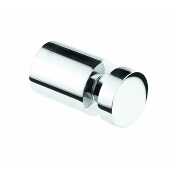 Croydex QA101741YW Flat Single Robe Hook - Chrome