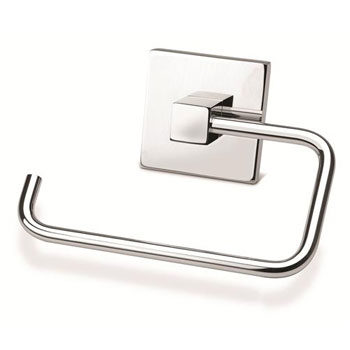 Croydex QB511141YW Brompton Toilet Roll Holder - Chrome