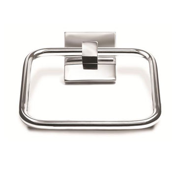 Croydex QB511541YW Brompton Towel Ring - Chrome