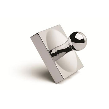 Croydex QB531741YW Kew Robe Hook - Chrome