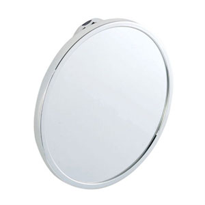 Croydex QM381041YW Stick 'N' Lock Anti Fog Mirror - Chrome