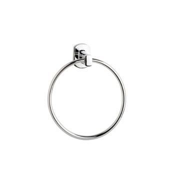 Croydex QM621541YWB Chelsea Towel Ring - Chrome