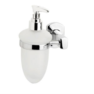Croydex QM626641YWB Chelsea Soap Dispenser - Chrome