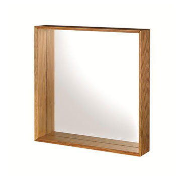 Croydex WA683376YW Kingston Wall Mirror - Oak