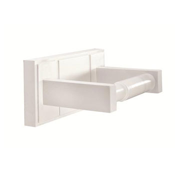 Croydex WA971122YW Maine Toilet Roll Holder - White