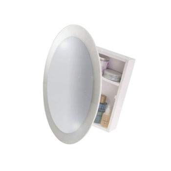 Croydex WC400422YW Saturn Cabinet - White