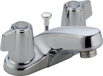 Delta 2520LF-MPU Classic Two Handle Centerset Lavatory Faucet - Chrome