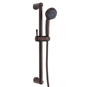 Danze D465005RB Three Funtion Personal Hand Shower with Slide Bar - Oil Rubbed Bronze