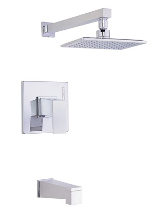 Danze D500062T Mid-town Single Handle Tub/Shower Trim - Chrome