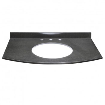 Decolav 1679-GBK Alexandra Granite Countertop - Black Granite