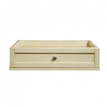 Decolav 5236-AWH Jordan Modular Single Drawer Console - Antique White