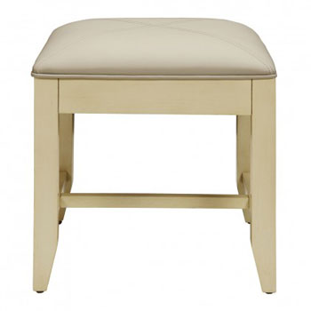 Decolav 5239-AWH Jordan Modular Vanity Stool - Antique White