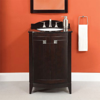 Decolav 5240-MWN Gavin Vanity - Medium Walnut (Pictured in Espresso)