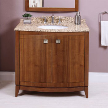 Decolav 5242-ESP Gavin Vanity - Espresso (Pictured in Medium Walnut)