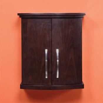 Decolav 5259 Dwn Alexandra Wall Mounted Cabinet Dark