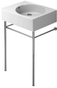 Duravit 0030591000 Metal Console - Chrome