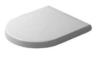 Duravit 0063320000 Starck 3 Round Toilet Seat and Cover Only - White