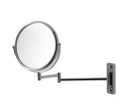 Duravit 0099121000 D-Code Wall Mounted Cosmetic Mirror - Chrome