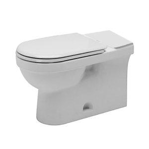 Duravit 112010062 Happy D Toilet Floor Standing - Alpine White