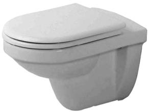 Duravit 0171090000 Happy D. Wall Mounted Toilet - White