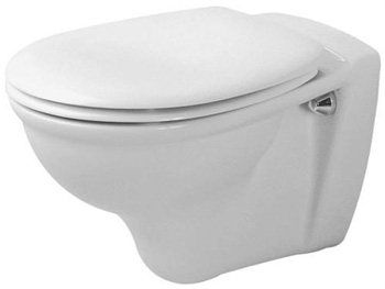 Duravit 0207090000 Darling Wall Mounted Toilet - White