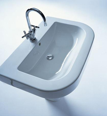 Duravit 0417650000 Happy D Washbasin - White