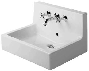 Duravit 0453600000 Vero 3 Hole Washbasin - White