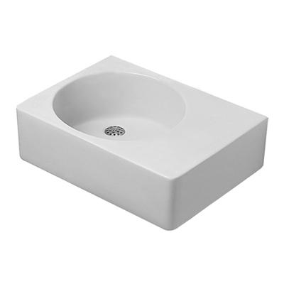 Duravit 0685600011 Scola Washbasin Right Bowl with Overflow - White