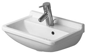 Duravit 0750450000 Starck 3 Handrinse Basin - White