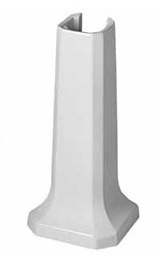 Duravit 0857900000 1930 Series Pedestal Base Only - White