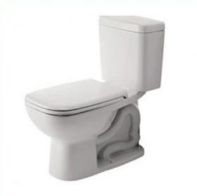 Duravit 113010001 D-Code 1 Piece Toilet - Alpine White