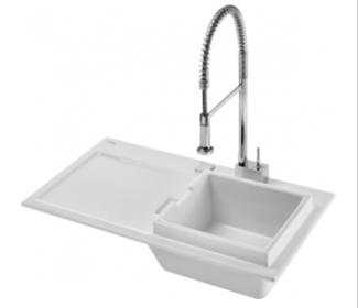 Duravit 7510900027 Starck K Kitchen Sink - White