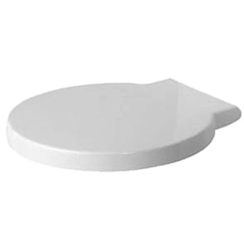 Duravit 006588 Starck 1 Toilet Seat and Cover - White
