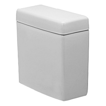 Duravit 0929100005 Happy D Toilet Tank Only - White