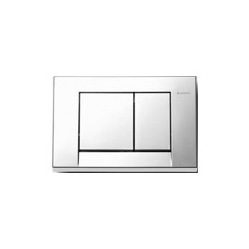 Duravit 115.777.21.1 Bolero Geberit Flush Plate - Chrome
