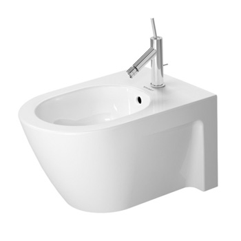 Duravit 227115 Starck 2 Wall-Mounted Bidet - White