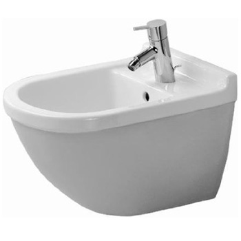 Duravit 2280150000 Starck 3 Wall Mounted Bidet - White