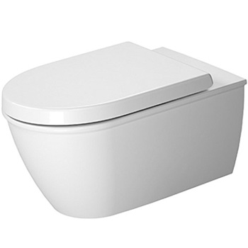 Duravit 2544090092 Darling Wall-Mounted Washdown Model Toilet - White