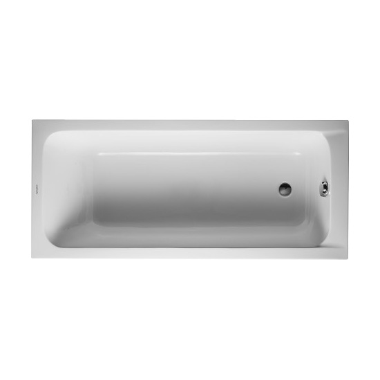 Duravit 700096 D-Code Bathtub - White