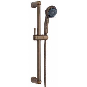 Danze D465005RBD Three Funtion Personal Hand Shower with Slide Bar - Distressed Bronze
