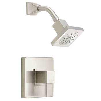 Danze D500533BNT Reef Shower Trim Package with Single Function Shower Head - Brushed Nickel