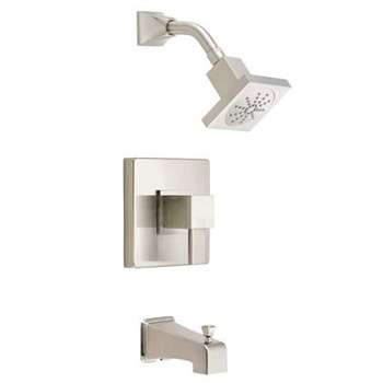 Danze D502033BNT Reef Single Handle Tub & Shower Faucet - Brushed Nickel