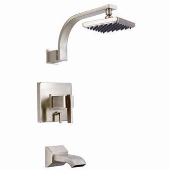 Danze D510044BNT Sirius Single Control Tub & Shower Trim - Brushed ...