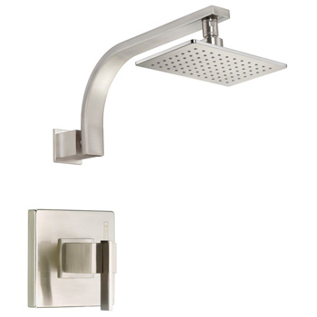 Danze D510544BNT Sirius Shower Trim Package with Single Function Shower Head - Brushed Nickel