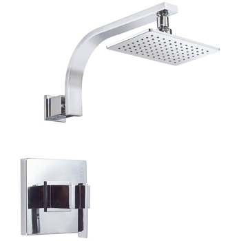 Danze D510544T Sirius Shower Trim Package with Single Function Shower Head - Chrome