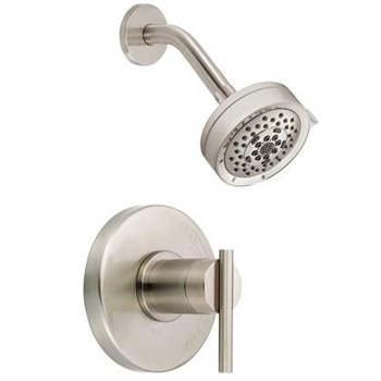 Danze D512558BNT Parma Trim Single Handle Pressure Balance Shower Faucet - Brushed Nickel